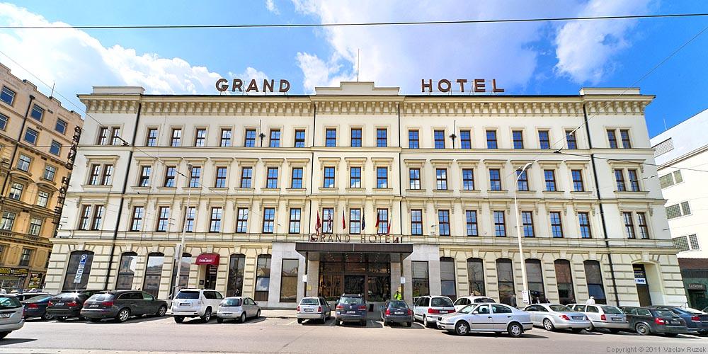 Grand Hotel Brno Cz